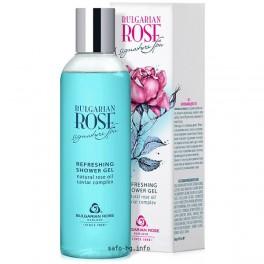 Освежаващ душ гел с Розово Масло   Bulgarian Rose Signature Spa Refreshing Shower gel
