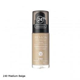 Фон дьо тен за комбинирана/мазна кожа №  240 Medium Beige Revlon ColorStay Makeup SPF 15 for Combination/Oily Skin