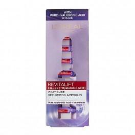Ампули за лице против стареене с хиалуронова киселина  L'Oreal Revitalift Filler HA Replumping Ampoules