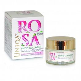 Лифтинг дневен крем Фитоколаген Натура лифт  Arsy Cosmetics Rosa Uniqa Phyto Collagen Natura Lift Day Cream