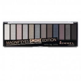Палитра сенки за очи в 12 цвята Rimmel Magnif'eyes Eyeshadow Palette