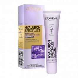 Крем за околоочен контур с хиалуронова киселина L'Oreal Hyaluron Specialist Eye Cream