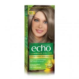 Дълготрайна крем боя за коса 8.1 Light Ash Blonde Farcom Echo Luminous Colors