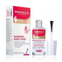 База за крехки нокти  Mavala  Barrier - Base Coat  for Delicate Nails
