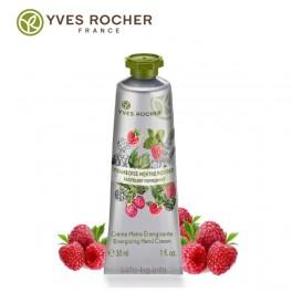Крем за ръце Малина и Мента Yves Rocher Energizing Raspberry Peppermint Hand Cream