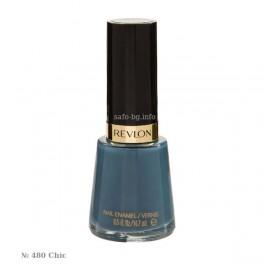 Лак за нокти № 480 Chic Revlon Nail Enamel/ Vernis