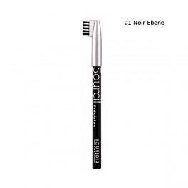 Молив за вежди 01 Noir Ebene Bourjois Sourcil Precision Eyebrow Liner