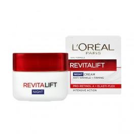 Нощен крем против бръчки Лореал Revitalift night cream