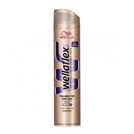 Лак за коса за плътност с екстра силна фиксация Wellaflex Fullness for Fine Hair