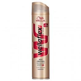 Лак за коса с ултра силна фиксация и термозащита Wellaflex Heat Creation Hairspray