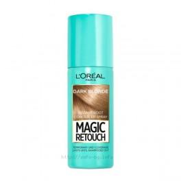 Спрей за коса за прикриване на бели корени Лореал Magic Retouch Dark Blonde