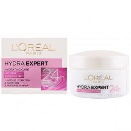 Крем за лице хидратиращ за суха и чувствителна кожа Лореал Hydra Expert 24h Dry & Sensitive Skin Cream