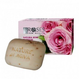 Тоалетен сапун Роза Nature of Agiva Soap Roses